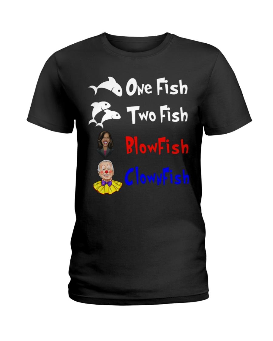Nancy Pelosi Clown Biden One Fish Two Fish BlowFish ClownFish Shirt7 1