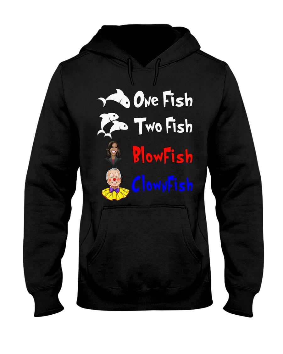 Nancy Pelosi Clown Biden One Fish Two Fish BlowFish ClownFish Shirt8 1