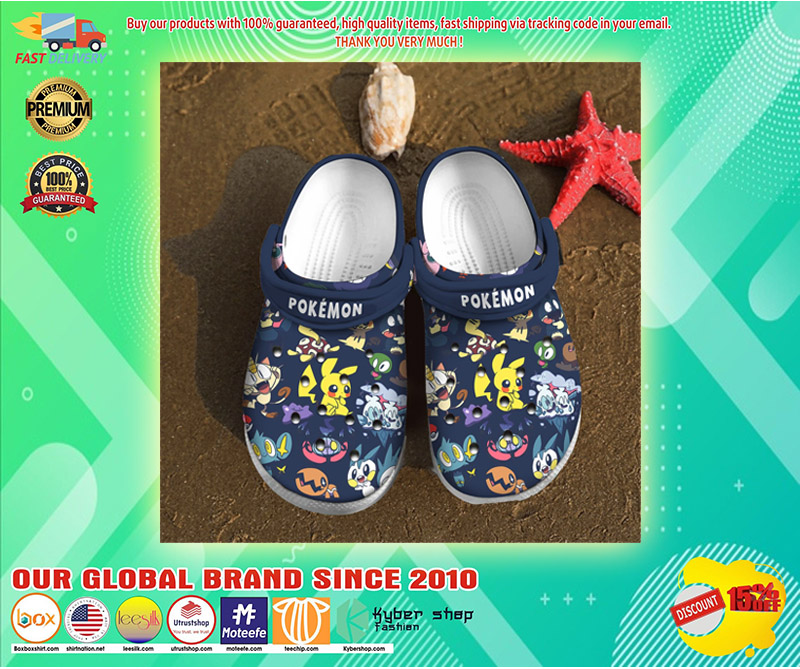 Pokemon crocs clog shoes 3