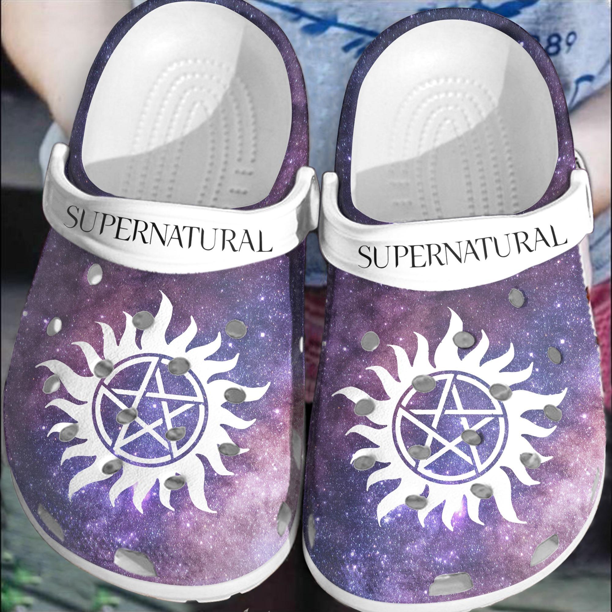 Supernatural croc shoes Crocband