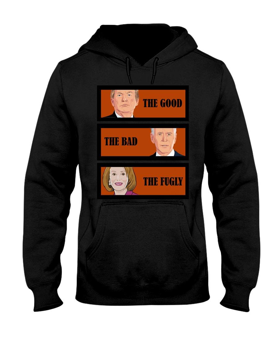 The Good Trump The bad Biden The Fugly Shirt2