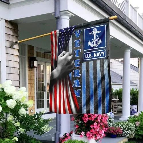 US Navy veteran American flag 1