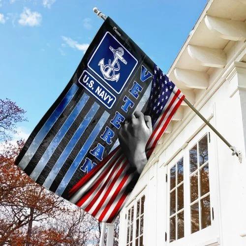 US Navy veteran American flag 2