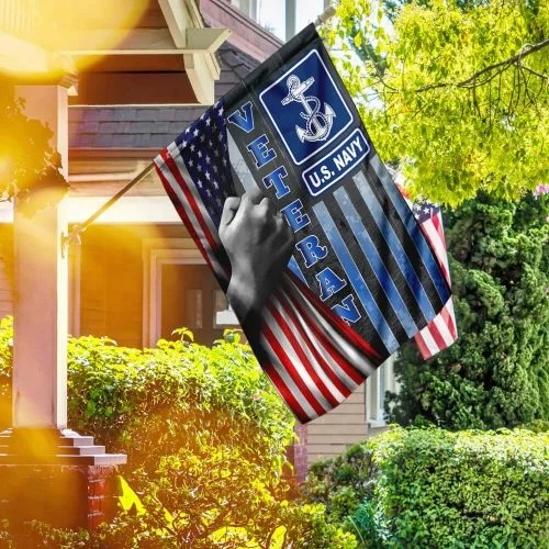 US Navy veteran American flag 3