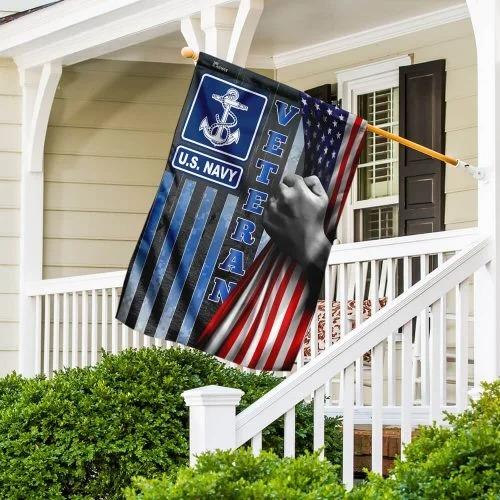 US Navy veteran American flag 4