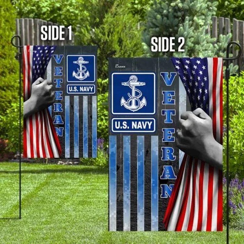 US Navy veteran American flag2