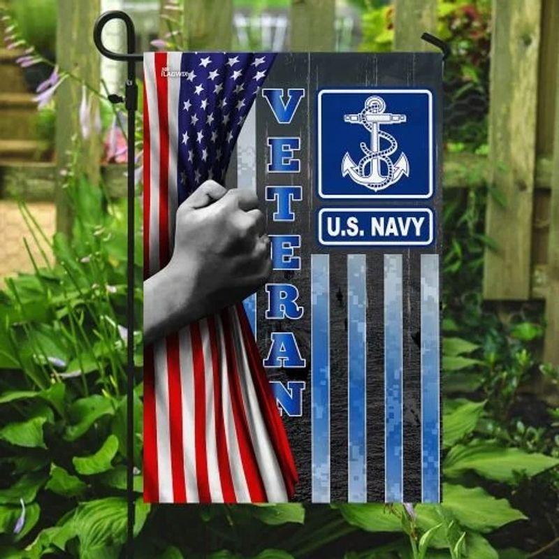 US Navy veteran American flag3