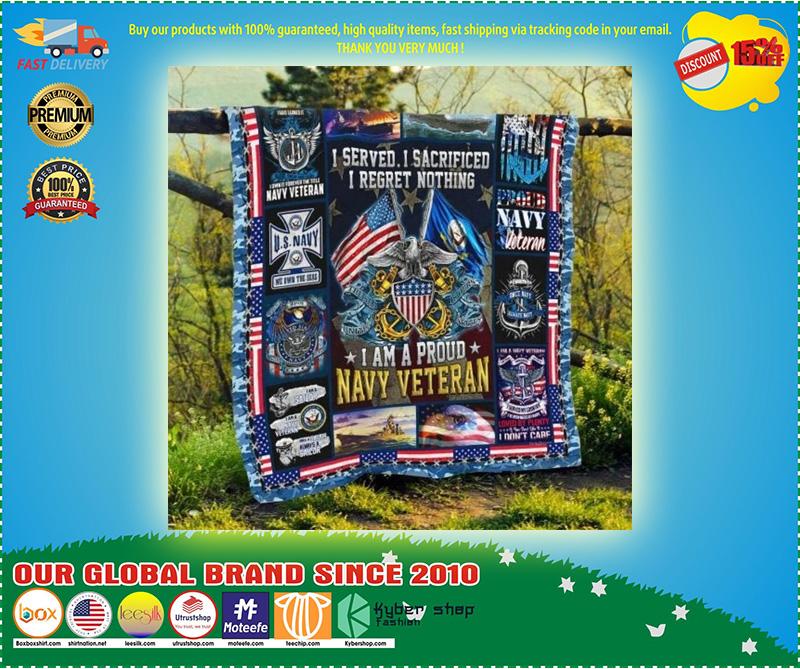 US Navy veteran I am a pround blanket3