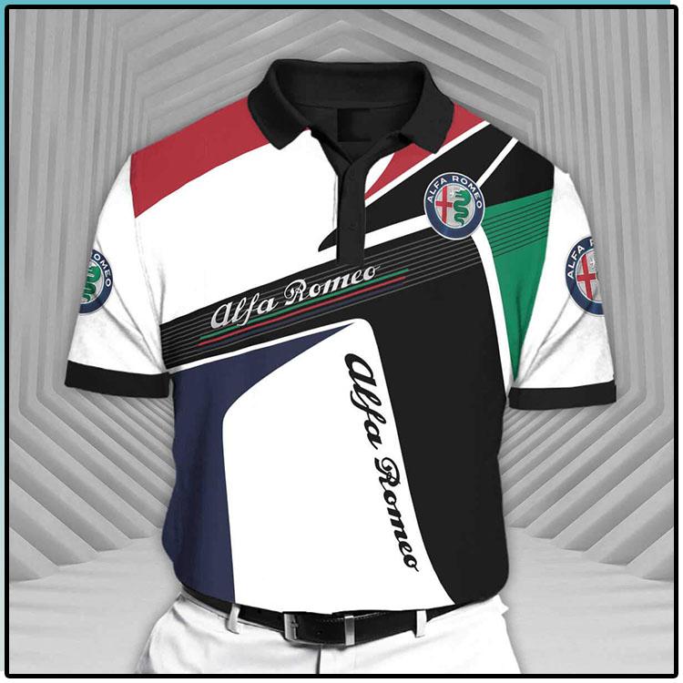 Alfa Romeo Short Sleeve Polo Shirt1