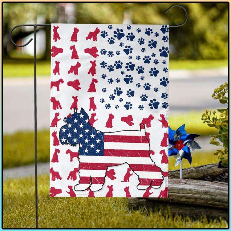 American Schnauzer Flag