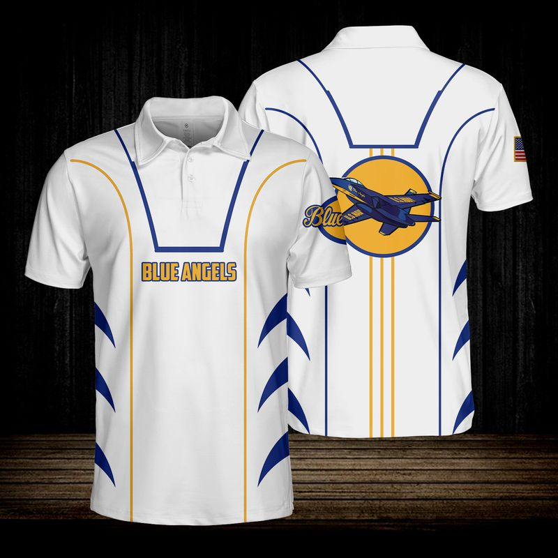 Blue Angels USN Polo Shirt