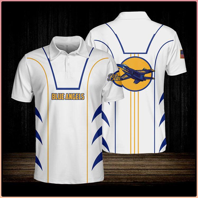 Blue Angels USN Polo Shirt3