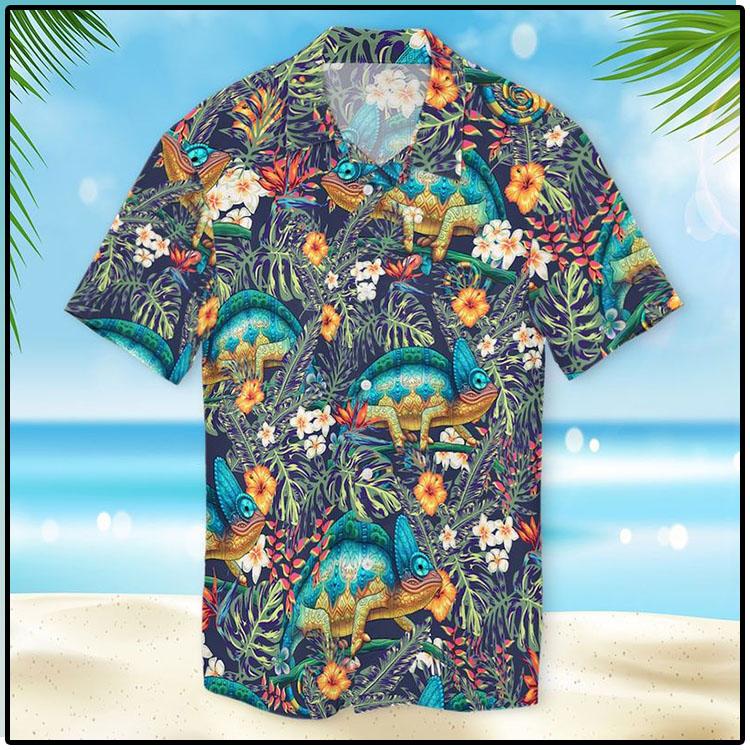 Chameleon Hawaiian Shirt2