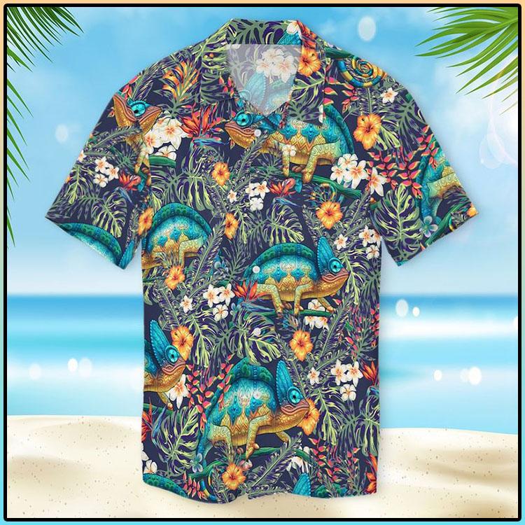 Chameleon Hawaiian Shirt3