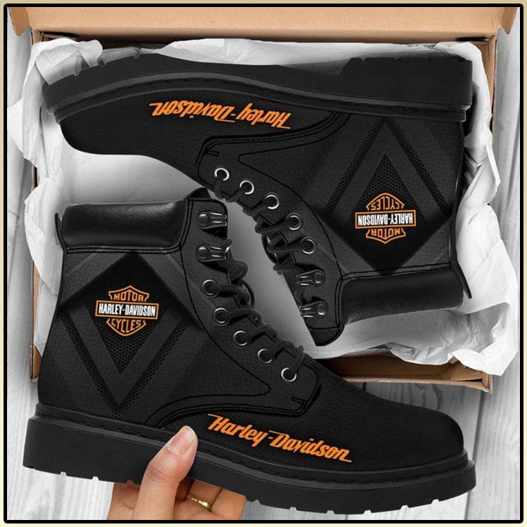 Harley Davodson Motor Cycles Boots 1