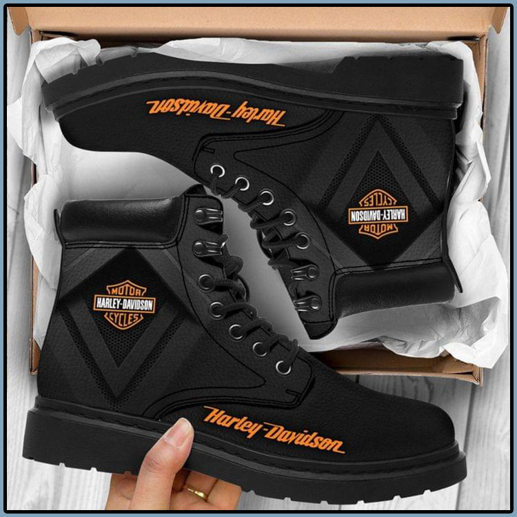 Harley Davodson Motor Cycles Boots1