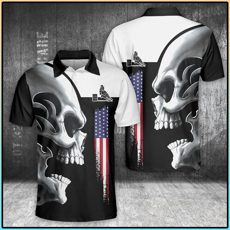 Horse Skull Polo Shirt3