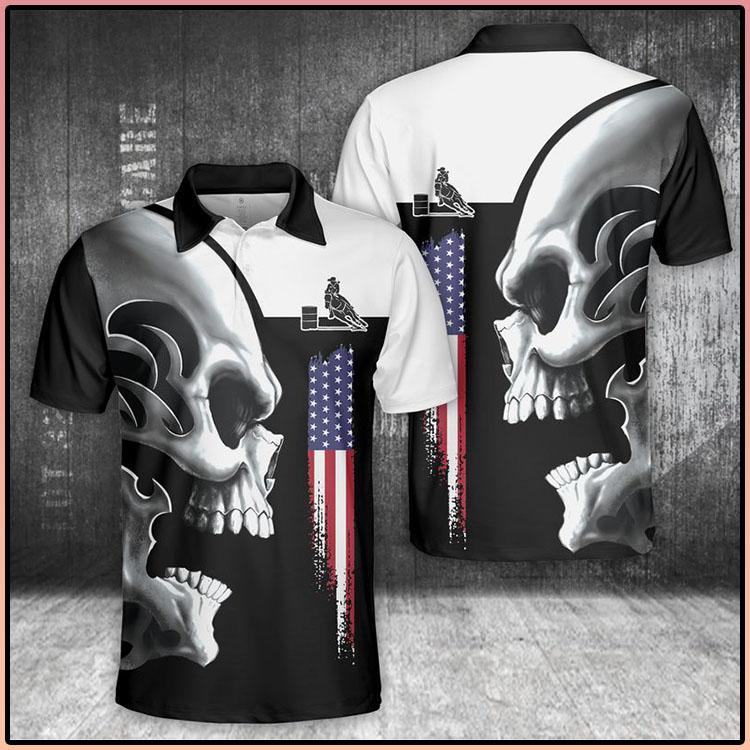 Horse Skull Polo Shirt4