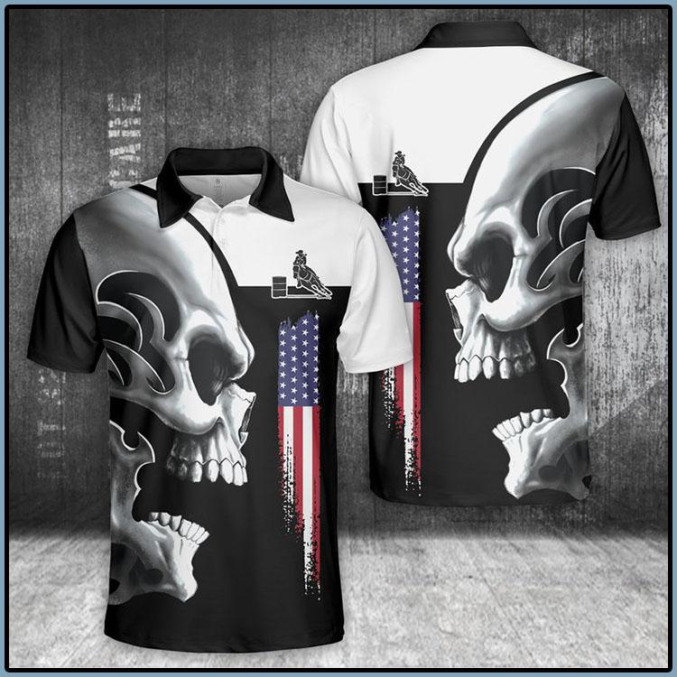 Horse Skull Polo Shirt6