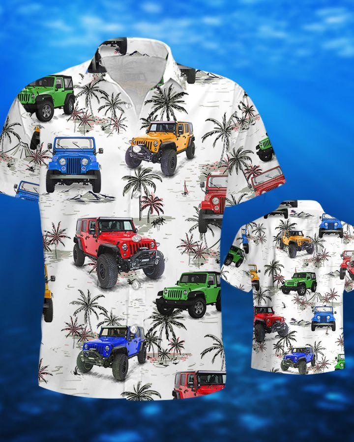 Jeep Ocean CJ Hawaiian Shirt and Short4
