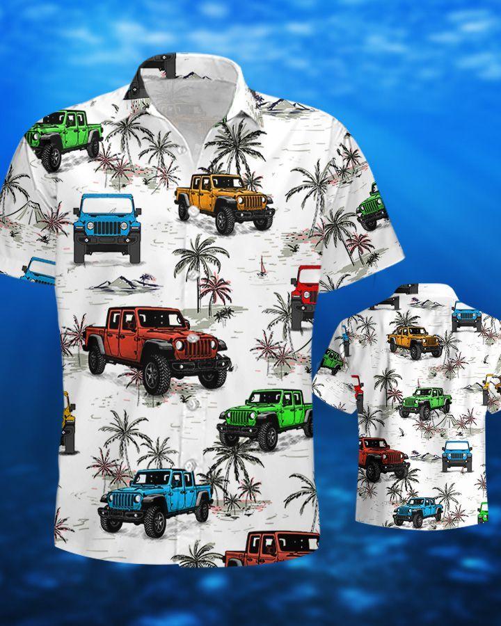 Jp Ocean Gladiator Hawaiian Shirt and Short2