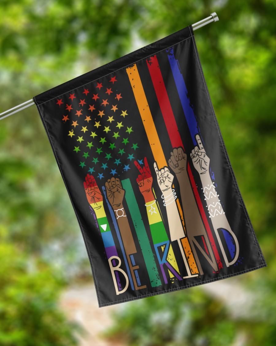LGBT American Be Kind FlagsD