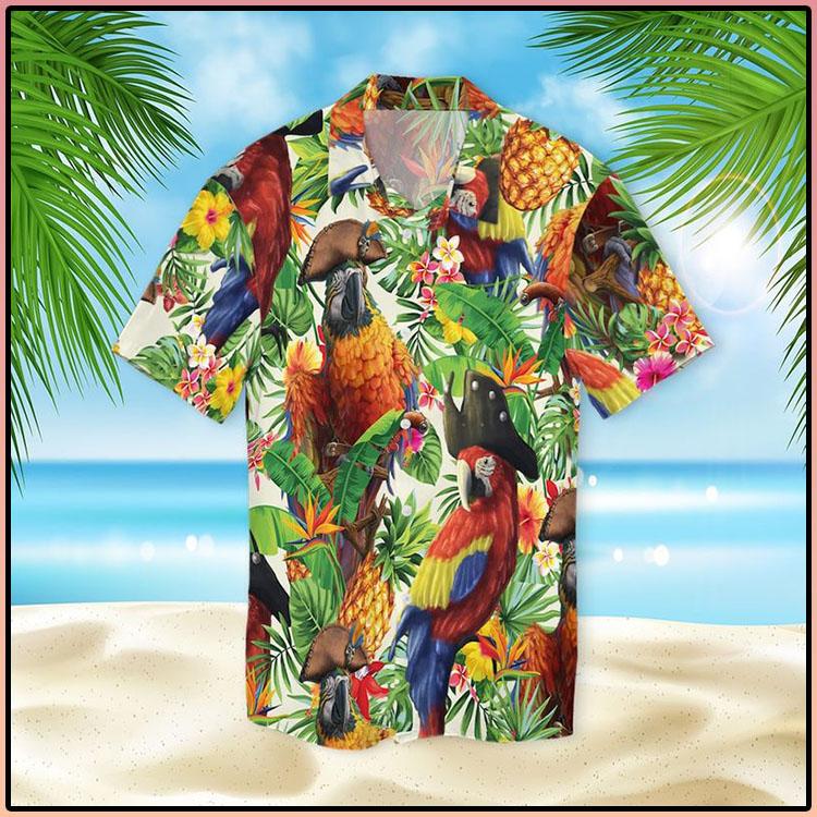 Pirate Parrot Hawaiian Shirt4