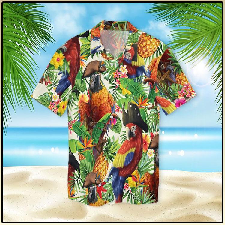 Pirate Parrot Hawaiian Shirt5