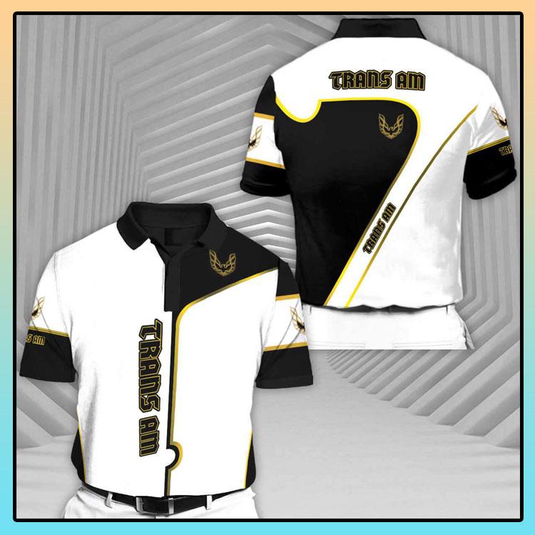 Trans Ams Series Short Sleeve Polo T Shirt2