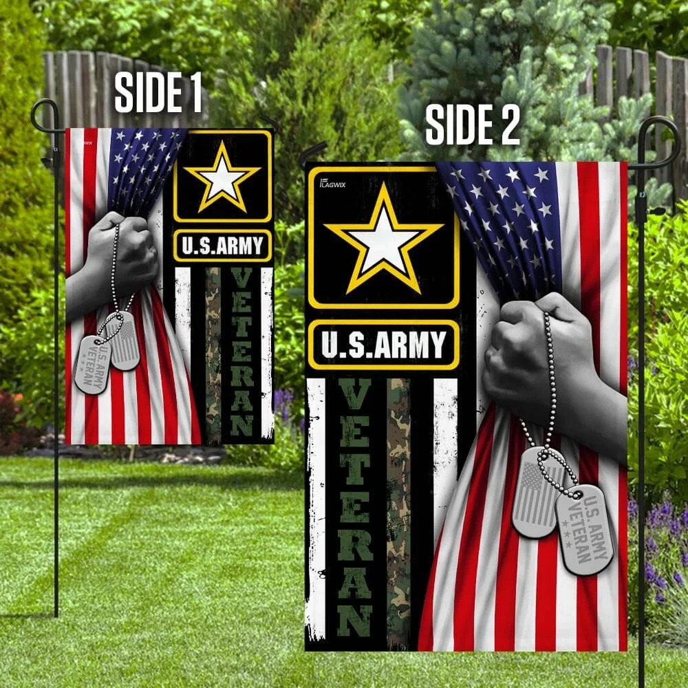 United States Army Veteran FlagF1