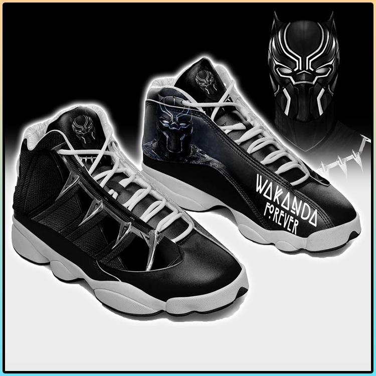 Wakanda Forever Black Panther Air Jordan 13 sneaker1