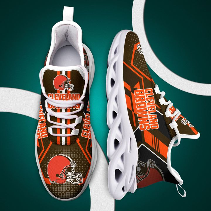 Cleveland brown nfl max soul clunky shoes 4