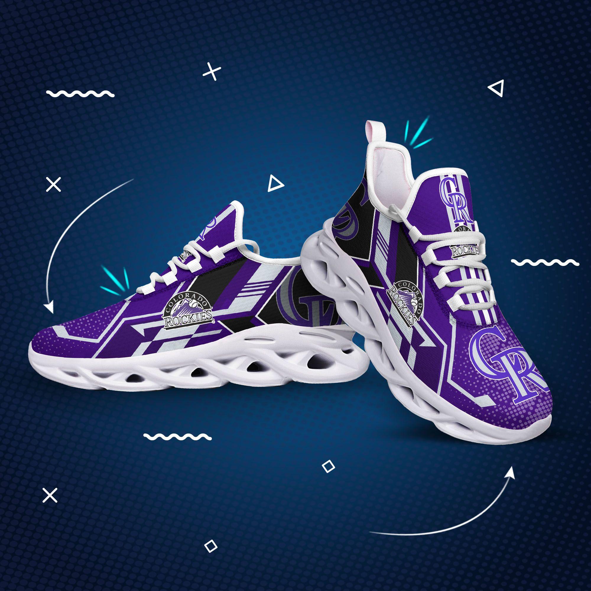 Colorado rockies mlb max soul clunky shoes 2