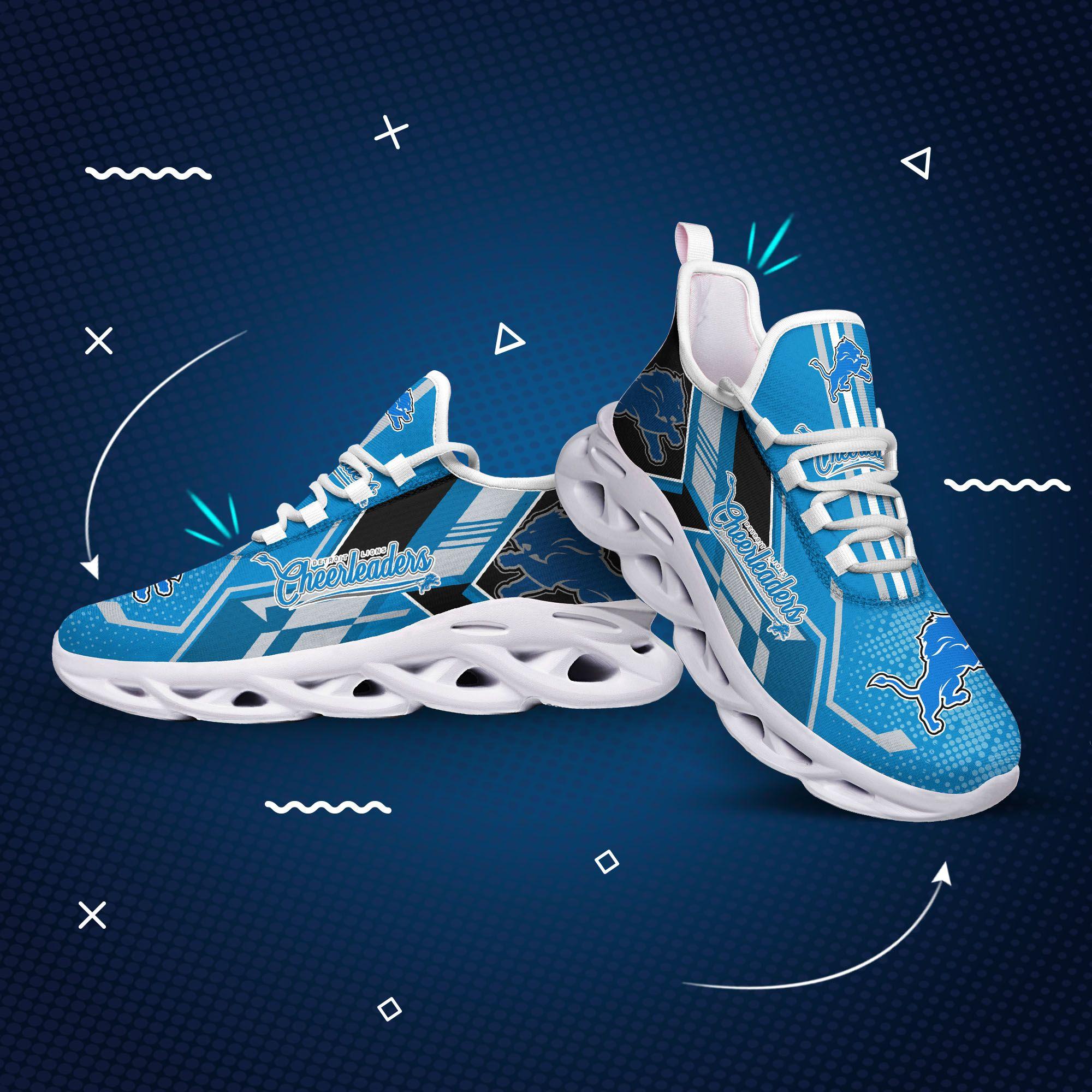 Detroit lions nfl max soul clunky shoes 2