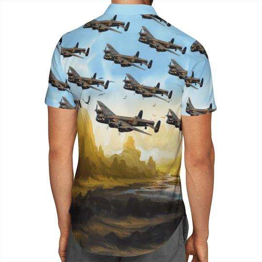 Avro lancaster bomber hawaiian shirt 2