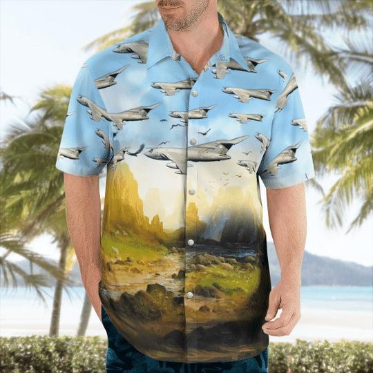 Blackburn buccaneer hawaiian shirt 1