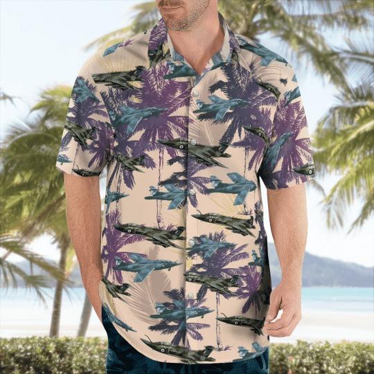 Blackburn buccaneer s2 hawaiian shirt 1