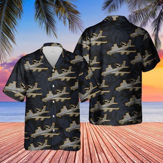Boeing 3 3d sentry aew1 hawaiian shirt 1 1