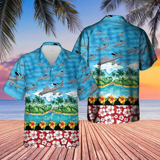 Boeing e 3d sentry aew1 hawaiian shirt 1 1
