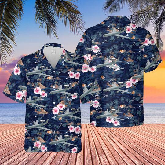Boeing e 3d sentry aew1 hawaiian shirt 1 2
