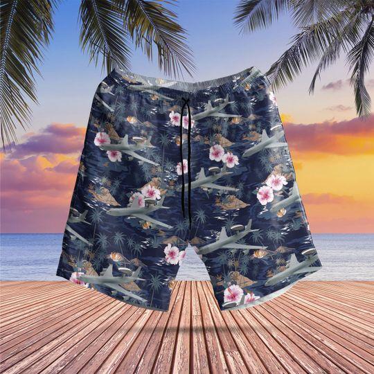 Boeing e 3d sentry aew1 hawaiian shirt 2 1
