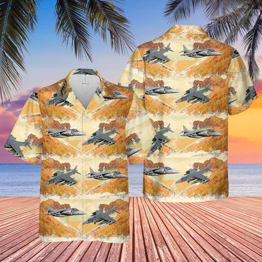 British aerospace harrier II harrier gr7 hawaiian shirt 1 1