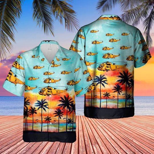 Westland sea king har3 hawaiian shirt 1