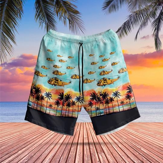 Westland sea king har3 hawaiian shirt 2