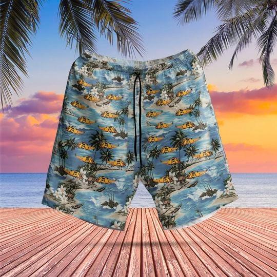 Westland sea king hawaiian shirt 2