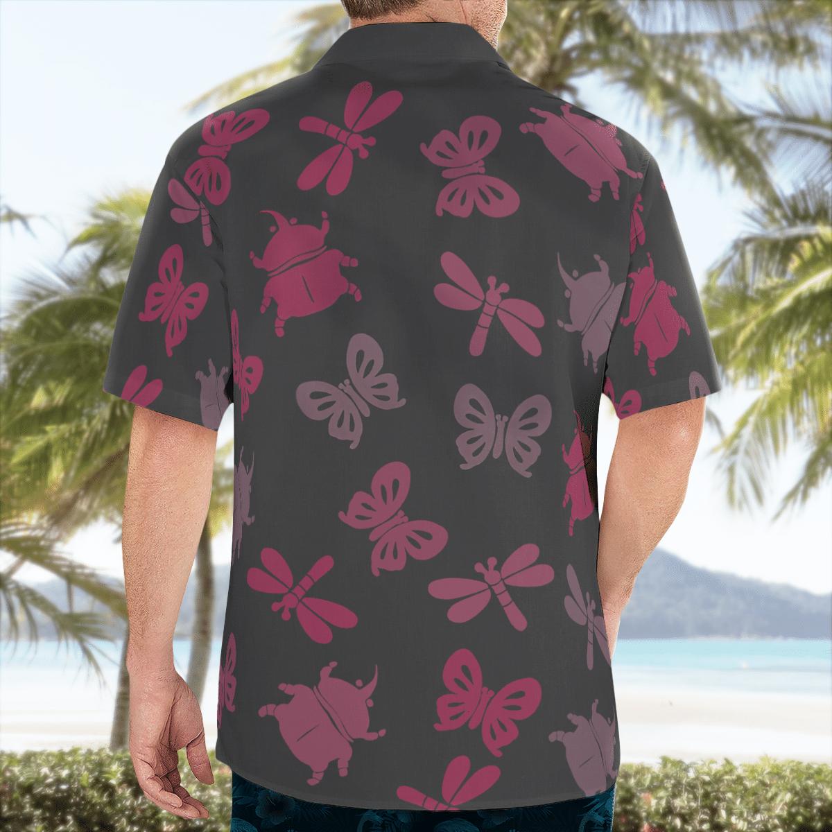 Bug off Aloha Hawaiian shirt and short 2