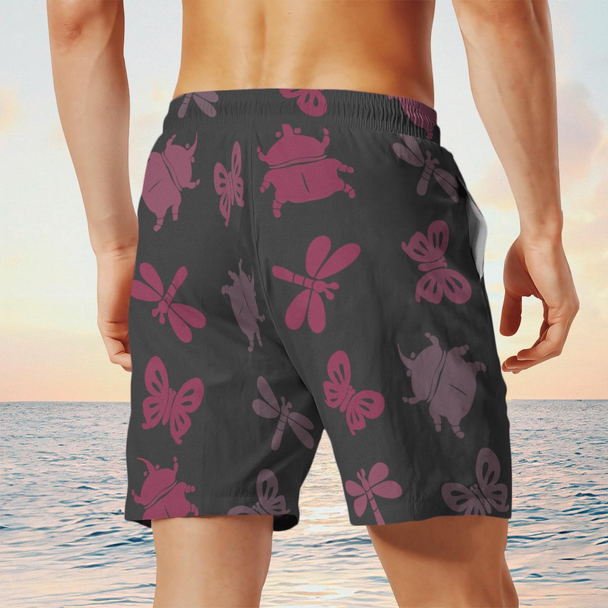 Bug off Aloha Hawaiian shirt and short 5