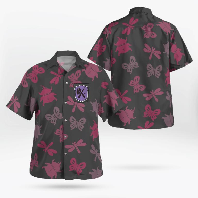 Bug off Aloha Hawaiian shirt and short