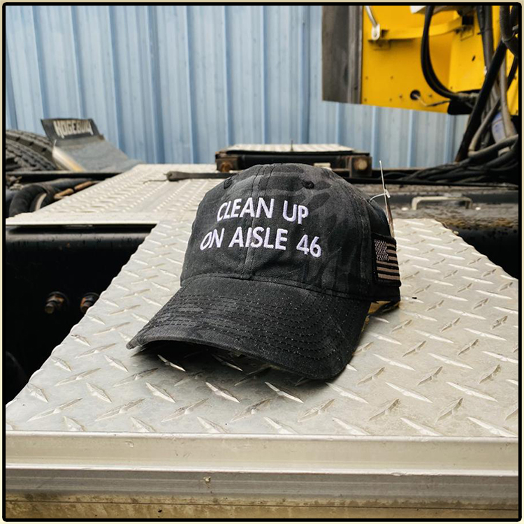 Clean Up On Aisle 46 Hat Cap 2