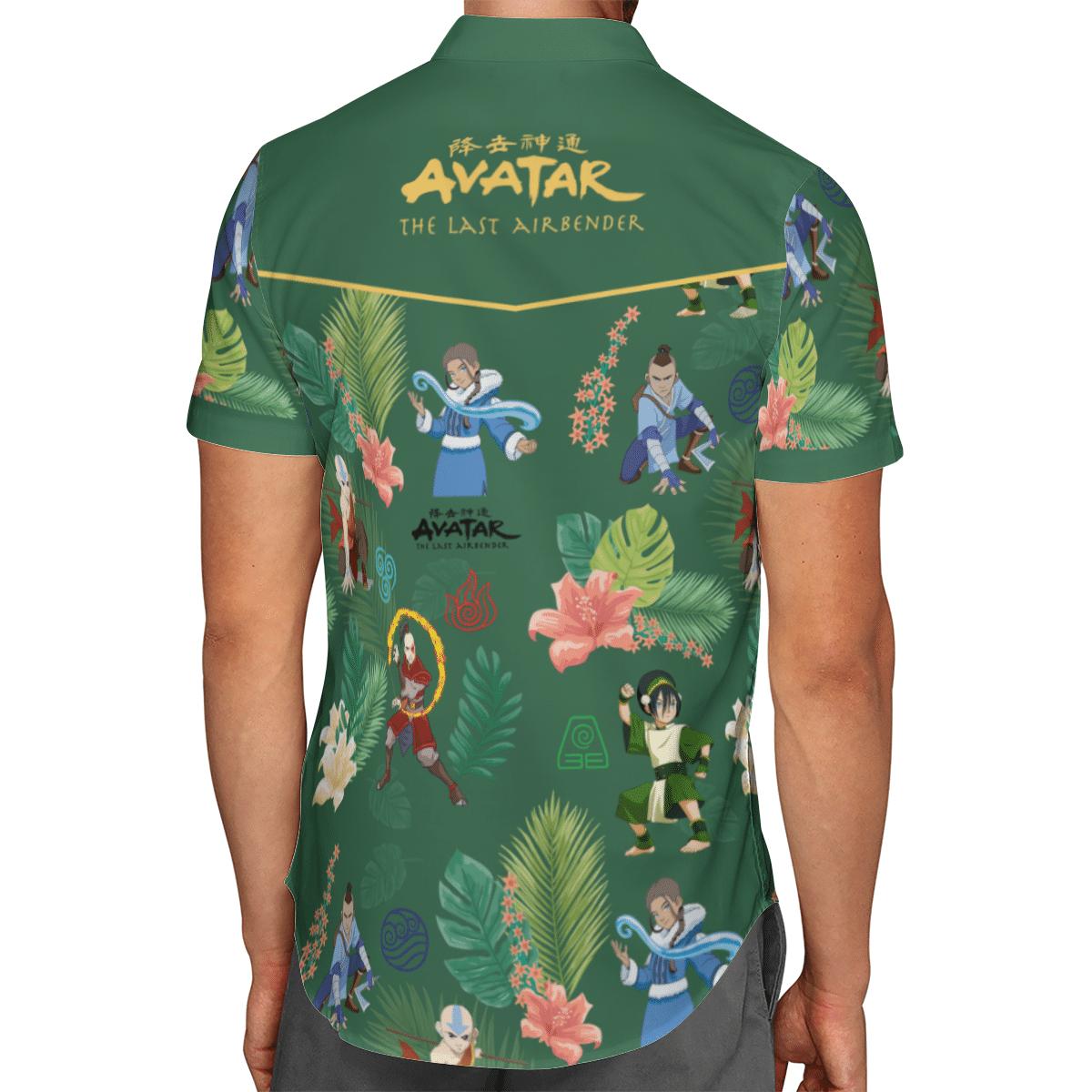 Earth Kingdom Avatar Hawaiian shirt 1